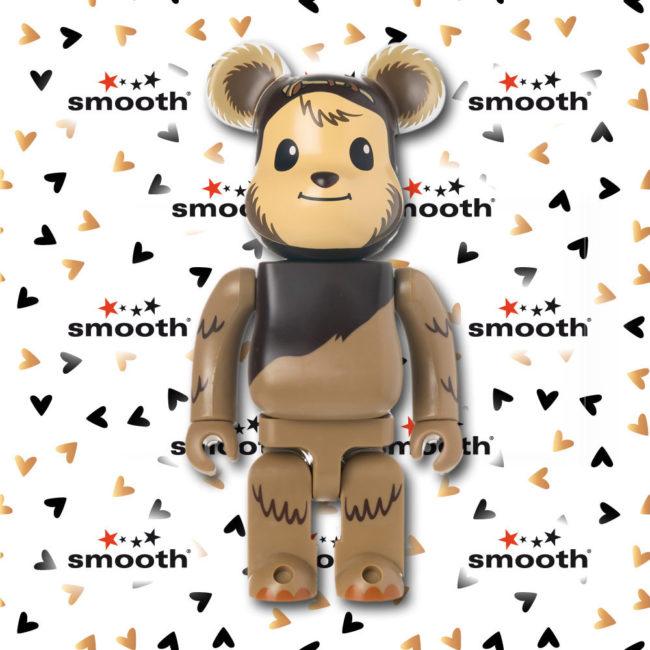 Medicom Toy Star Wars Wicket Ewok Bearbrick 400% Limited Edition 2006