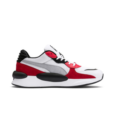 Buy Puma Boy's Rebound v2 Hi Jr White and Surf The Web