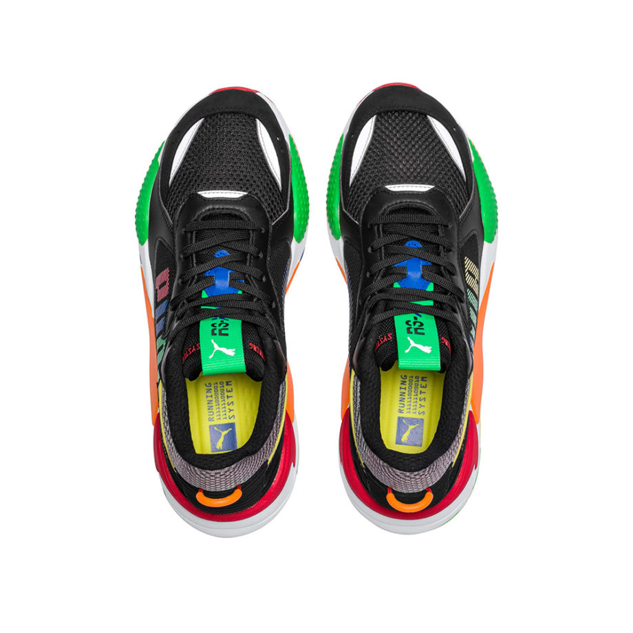 Puma RS-X Bold Sneakers Black/ANDEANTOUCAN/OraPopsicle