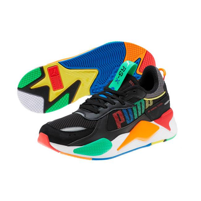Puma RS-X Bold Sneakers Black/ANDEANTOUCAN/OraPopsicle