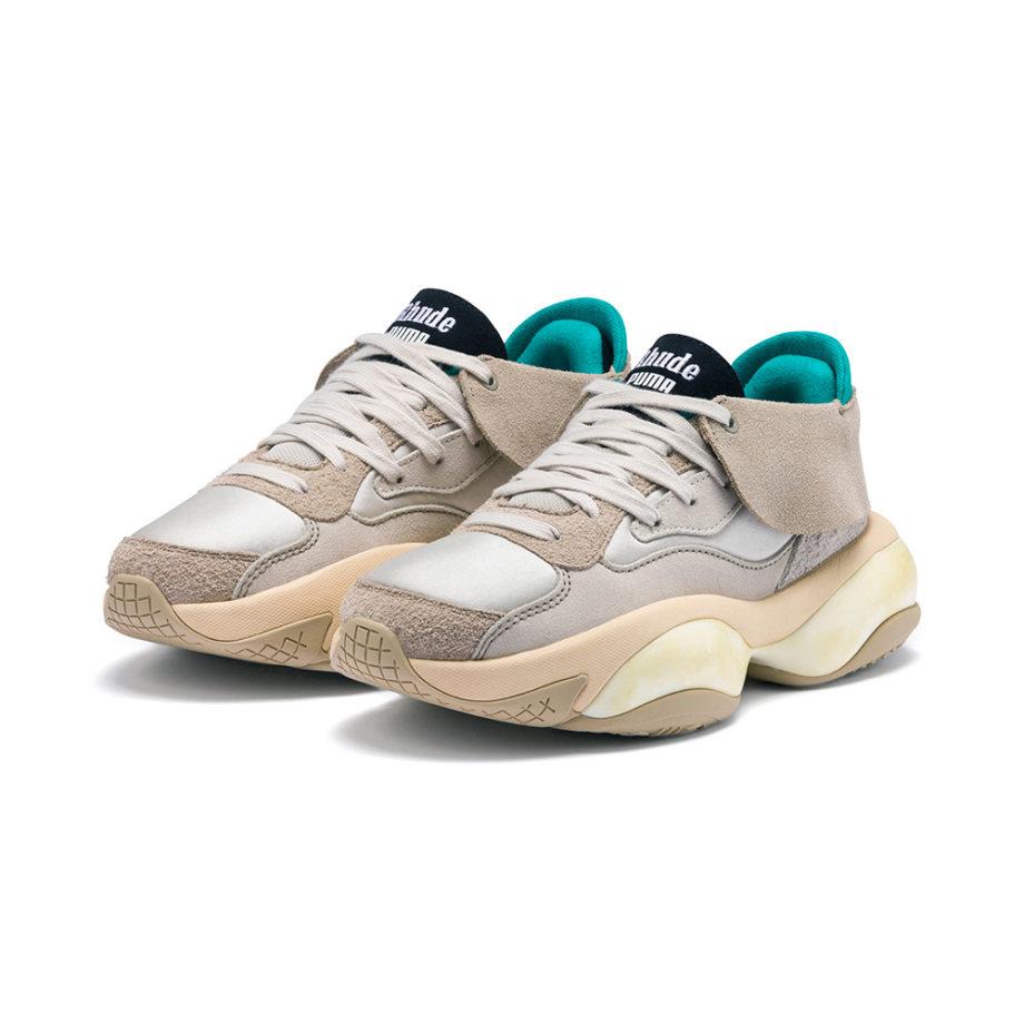 PUMA x RHUDE Alteration Sneakers Chinchilla-Whisper White