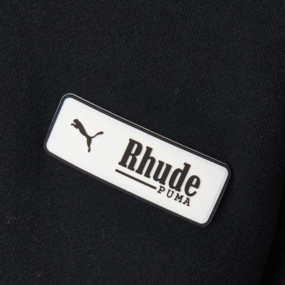 Puma X Rhude Hoodie Black / Felpa Con Cappuccio