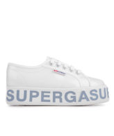 Superga 2790 COTTRANSPLETTERINGW Woman Shoes White