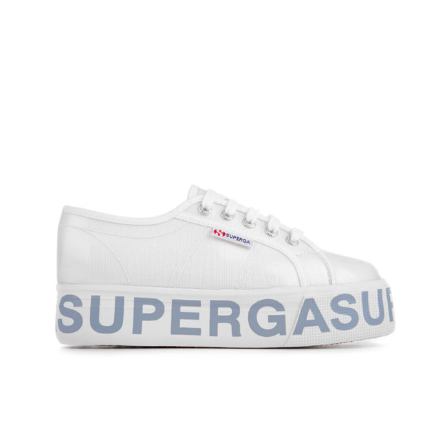 Superga 2790 COTTRANSPLETTERINGW Woman Shoes White