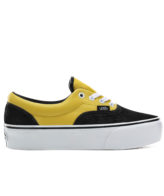 Vans Era Platform Python Shoes Black/True White