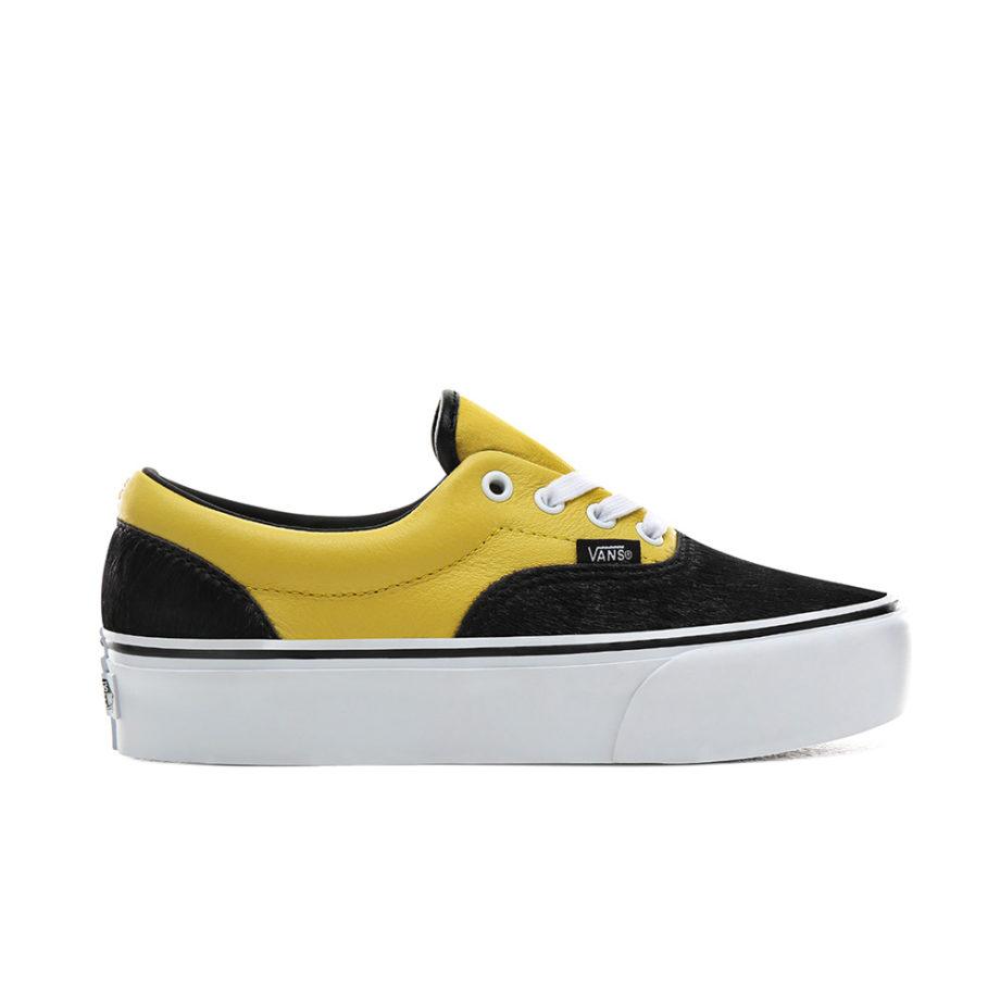 Vans Era Platform Python Shoes Black/True White