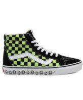 Vans Sk8-Hi Reissue BMX Shoes Black/Sharp Green