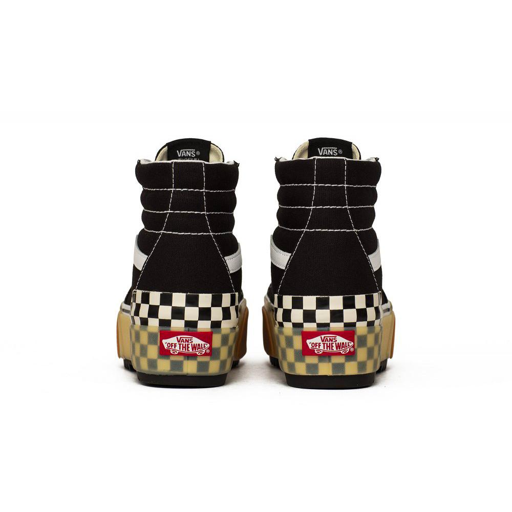 Vans Sk8-Hi Stacked Shoes Black