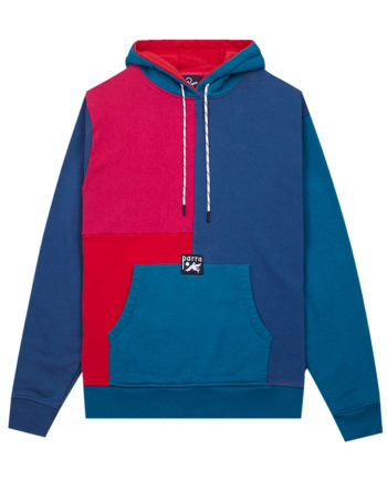 By Parra Colorblocked Hooded Sweatshirt Multicolor