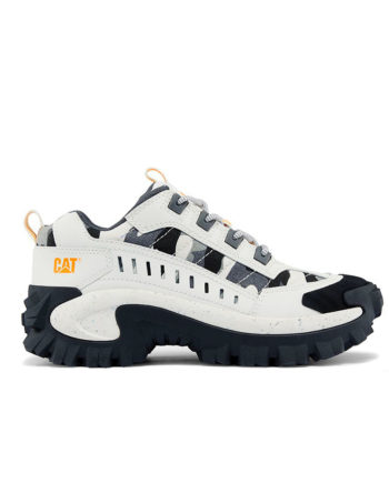 CAT Footwear Intruder Chunky Men Shoes Lily / White