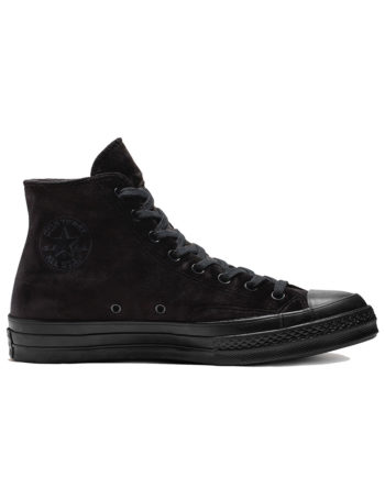Converse Chuck 70 Velvet High Top Shoes 165170C Black