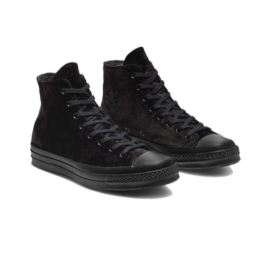 Converse Chuck 70 Velvet High Top Shoes 165170C Black