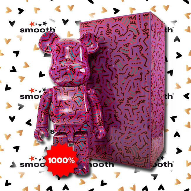 Medicom Toy Keith Haring #2 Bearbrick 1000% Limited Edition
