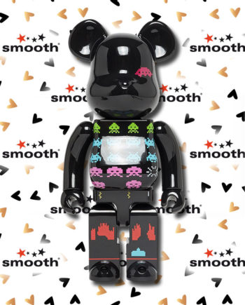 Medicom Toy Space Invaders Bearbrick 400% Limited Edition