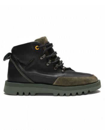 Satorisan Kiso Napa Black Granite Men Shoes