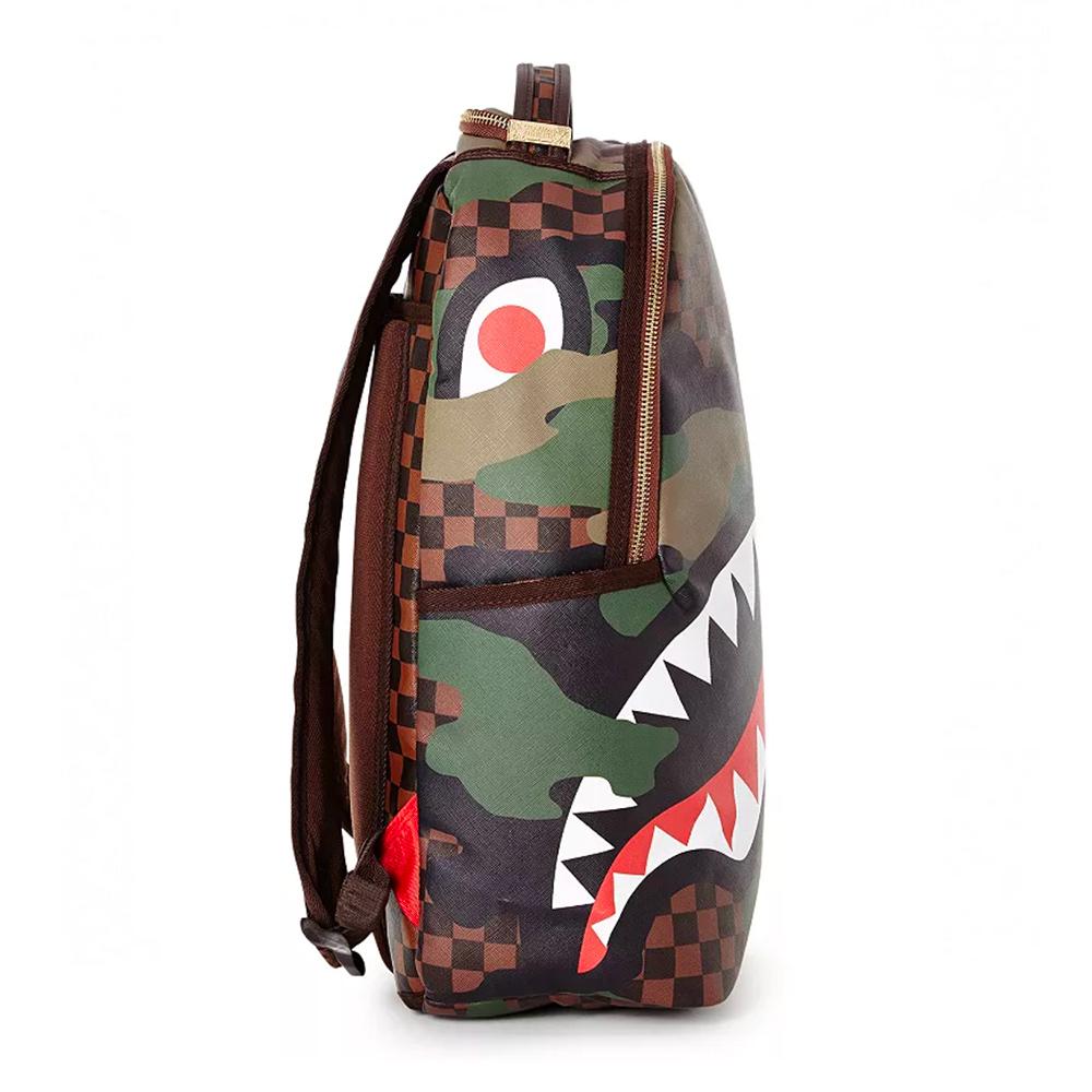Sprayground Sharks In Paris Camo Edition Backpack Zaino