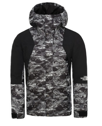 The North Face Mountain Light Dryvent Insulated Man Jacket Black Lunatic Print