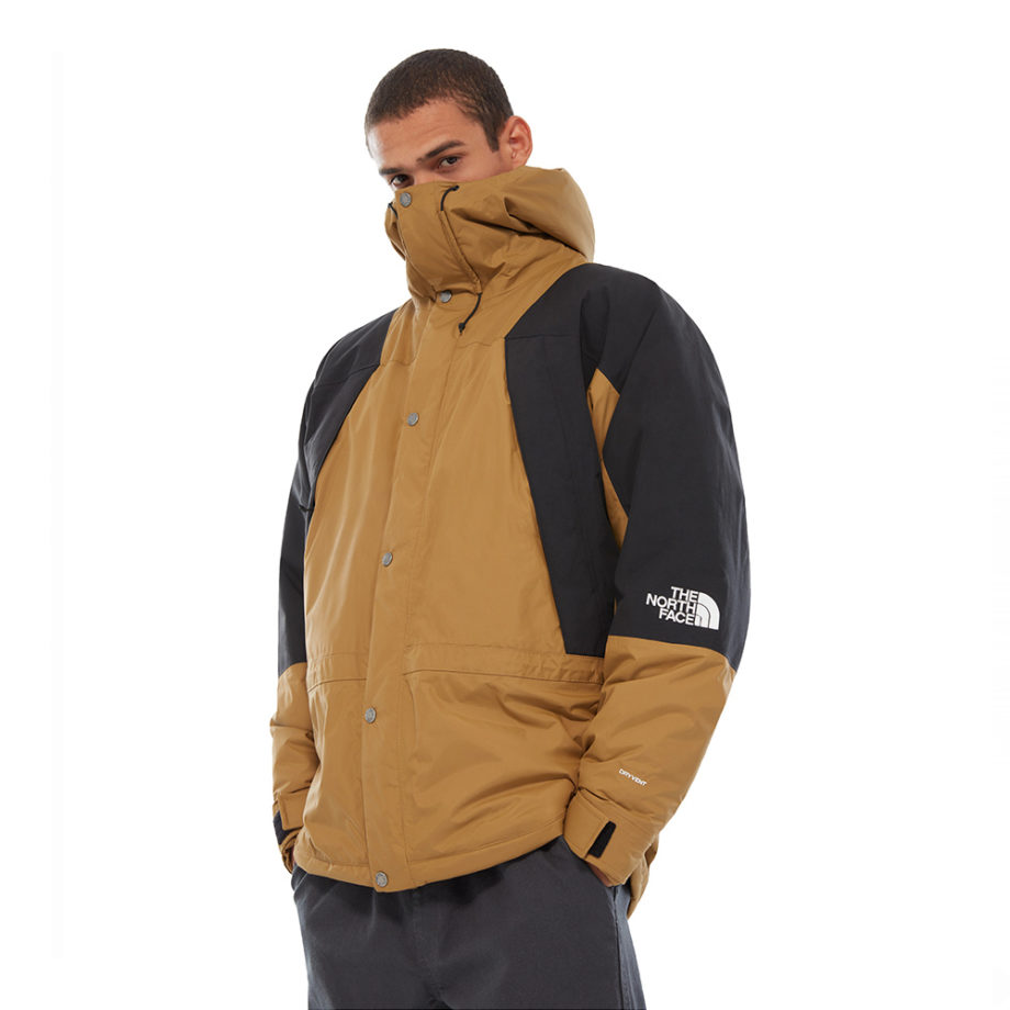 The North Face Mountain Light Dryvent Insulated Man Jacket British Kaki