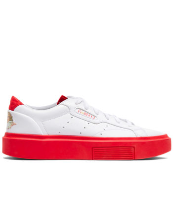 ADIDAS X FIORUCCI SUPER SLEEK Woman Sneakers WHITE/RED