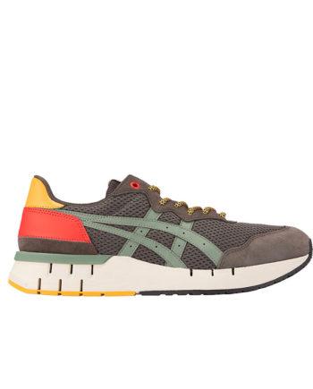 Asics Tiger Rebilac Runner Man Sneakers Dark Sepia/Burnt Olive