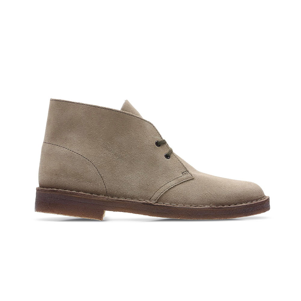 Ruthless Entanglement Coherent  Clarks Desert Boot Wolf Suede new WOMAN COLLECTION
