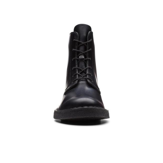 Clarks Desert Mali Woman Boot Black Polished