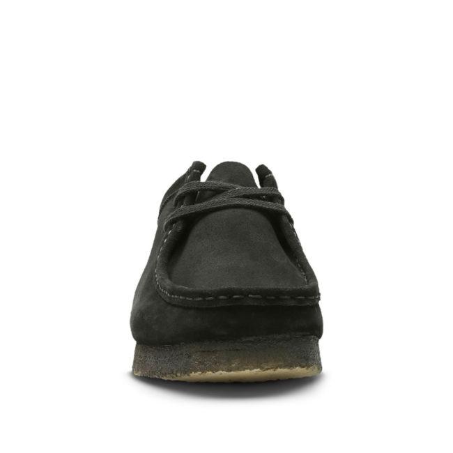 Clarks Originals Wallabee Black Suede Man Shoe
