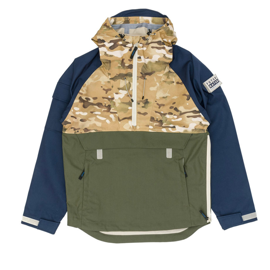 Element Future Nature X Griffin Fieldstone Anorak Jacket Woodland Camo