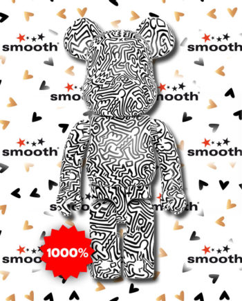 Medicom Toy Keith Haring #4 Bearbrick 1000% Limited Edition