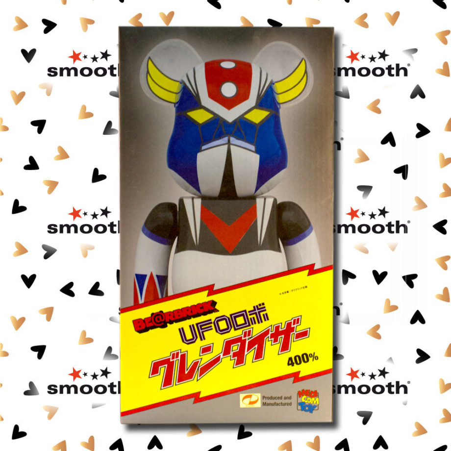 Medicom Toy Ufo Robot Grendizer Goldrake Bearbrick 400%
