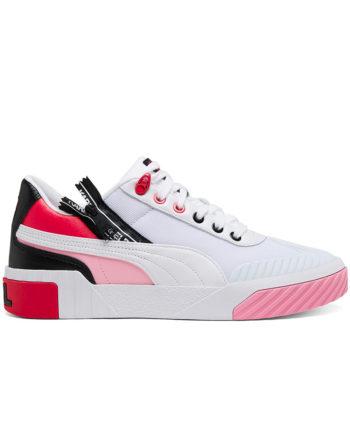 Puma X Karl Lagerfeld Cali Karl Woman Sneakers White-PRISM PINK