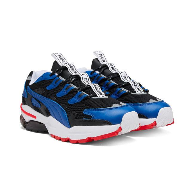Puma X Karl Lagerfeld Cell Alien Karl Man Sneakers Black-TRUE BLUE