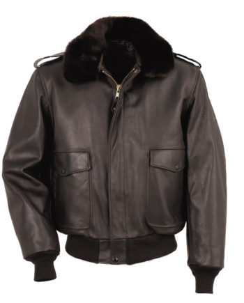 Schott NYC Leather Flight Jacket 184SM BROWN