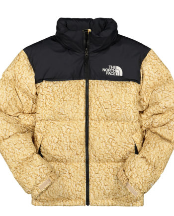 The North Face 1996 Retro Nuptse Jacket White Sherpa Print
