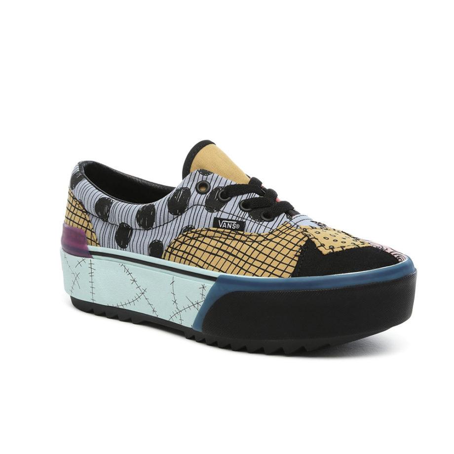 Vans x DISNEY ERA STACKED Sneakers Platform Sally/Nightmare Before Christmas