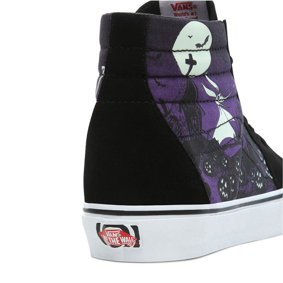 Vans X Disney SK8-HI Sneakers Jacks Lament/Nightmare Before Christmas