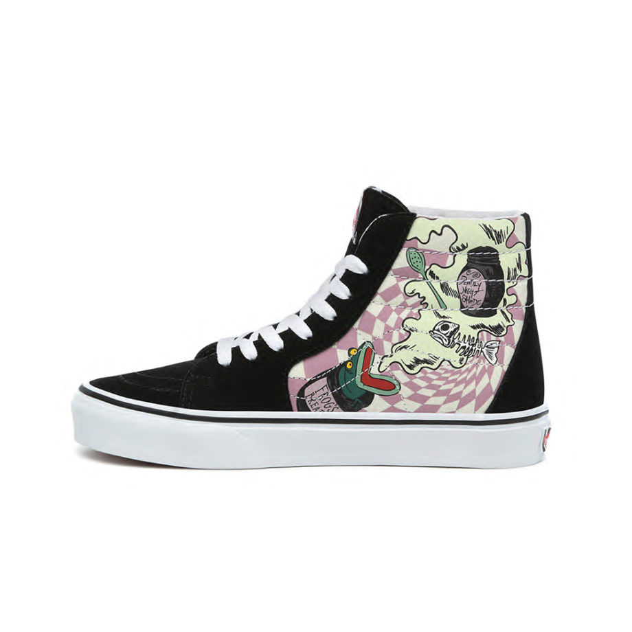 Vans X Disney SK8-HI Sneakers Sally's Potion/Nightmare Before Christmas