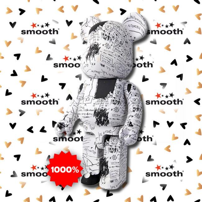 Medicom Toy Jean-Michel Basquiat #3 Bearbrick 1000% Limited Edition