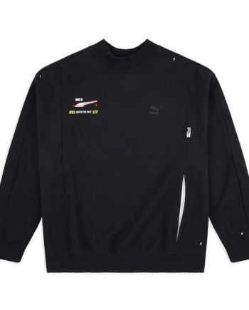 Puma X Ader Error Crewneck Sweater / Felpa Girocollo Black