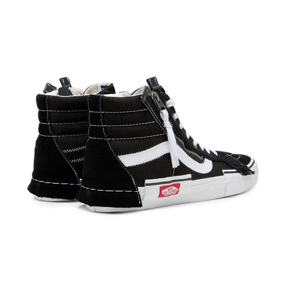 Vans Sk8 Hi Reissue Cap Man Sneakers Black/True White