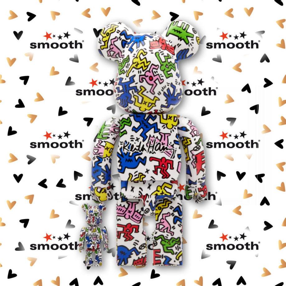 Medicom Toy Keith Medicom Toy Keith Haring Bearbrick set 100% 400% Dancing People Limited EditionBearbrick set 100% 400% Limited Edition