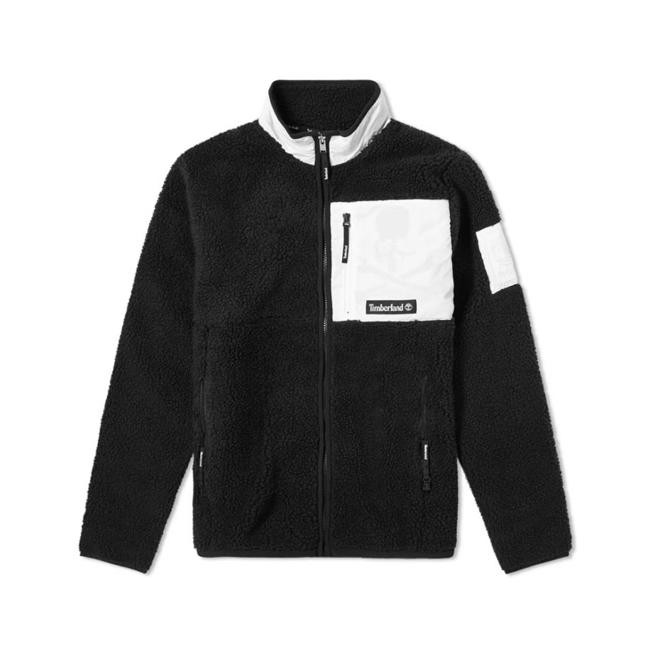 Timberland X Mastermind Fleece Jacket For Men Black 0A28ZAN92