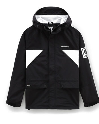 Timberland X Mastermind Weatherbreaker Jacket For Men Black 0A28YCN92