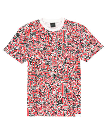 Diamond Supply Co. X Keith Haring 83 Tee short sleeve All over print