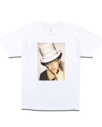 Diamond Supply Co. X Keith Haring In a Hat Tee White