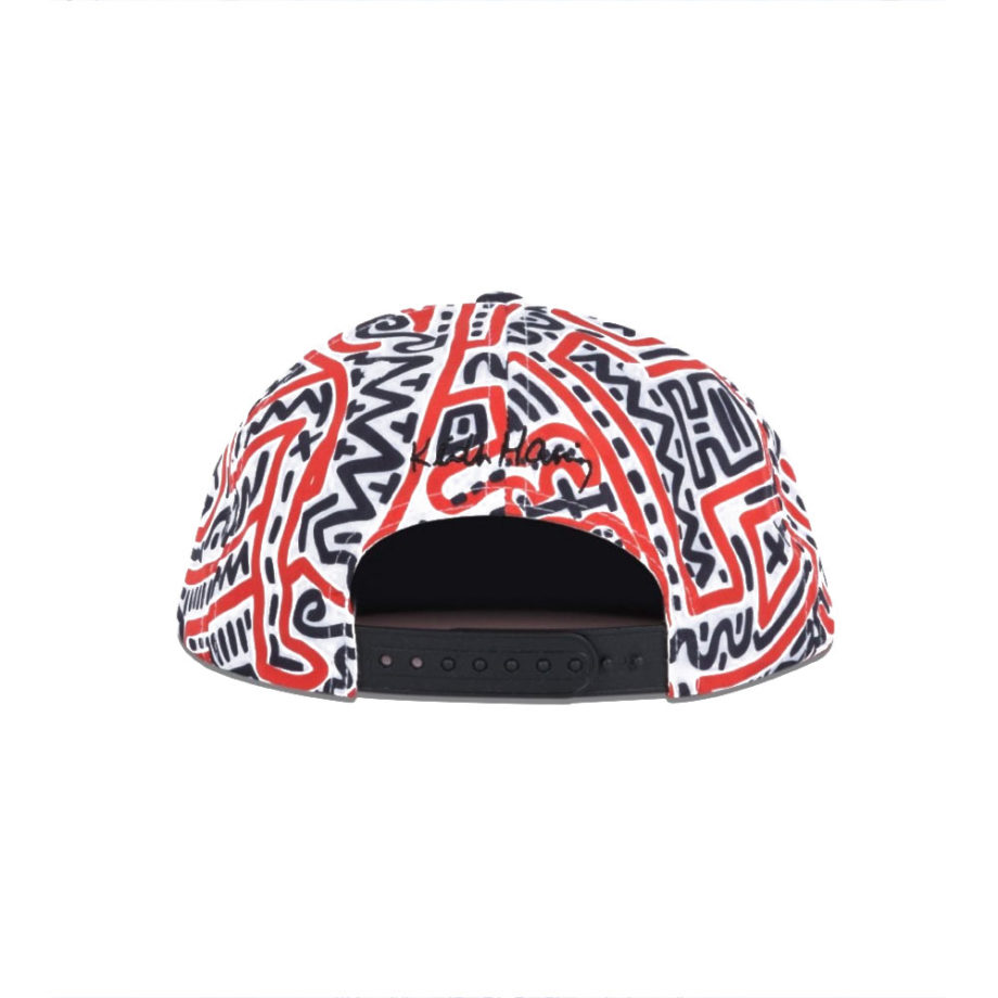 Diamond Supply Co. X Keith Haring Print Snapback Hat Limited Edition