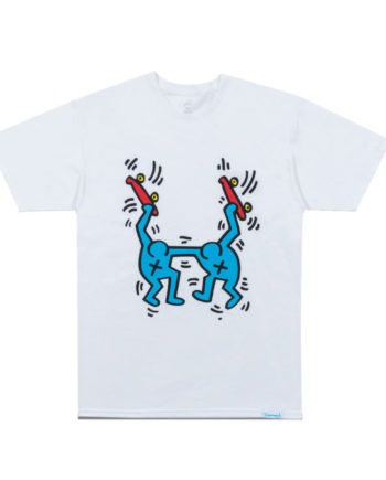 Diamond Supply Co. X Keith Haring Stand Together Tee White