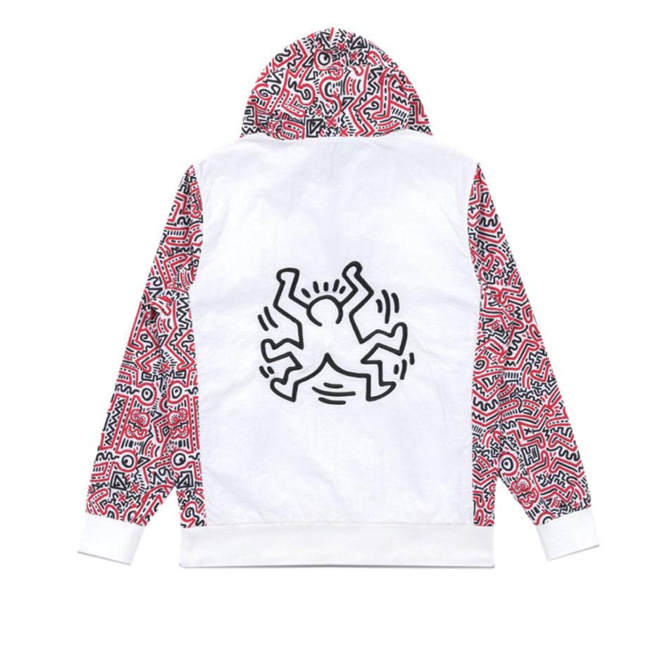 Diamond Supply Co. X Keith Haring Windbraker Jacket