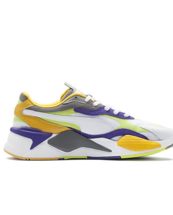 Puma RS-X3 Level Up  Sneakers White Limepunch 373169 01