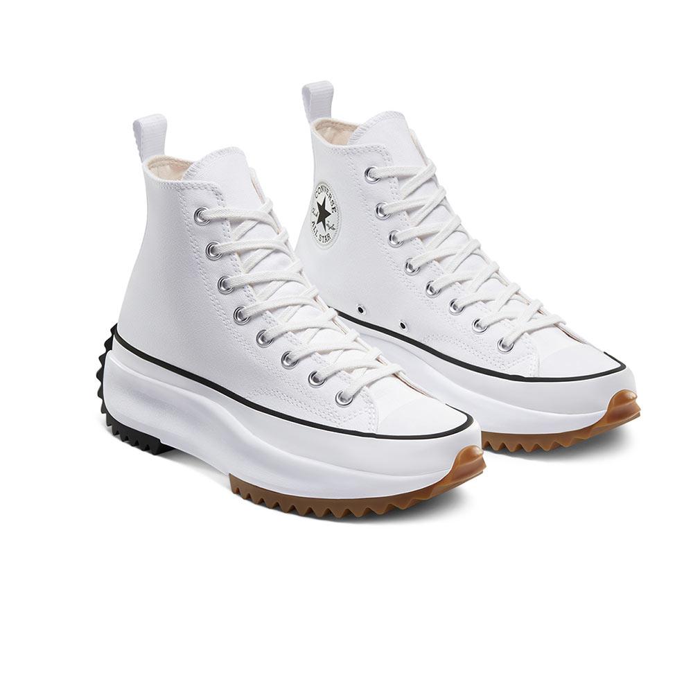 Converse Run Star Hike High White Black Gum 166799C